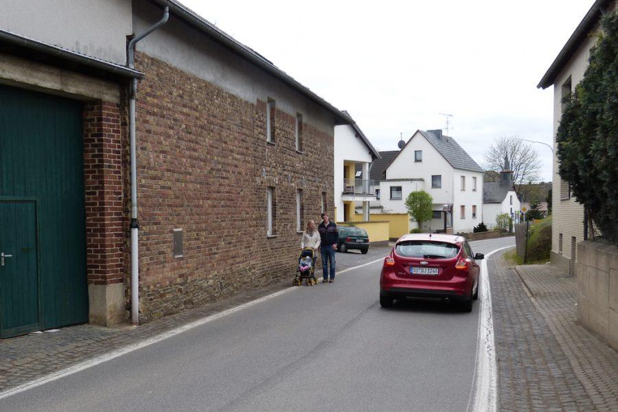 Scheurener Ortsdurchfahrt