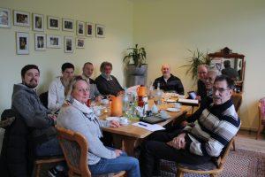 Fraktionsmitglieder bei den Haushaltsberatungen
