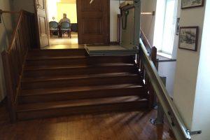 Treppenlift Rats- und Bürgersaal